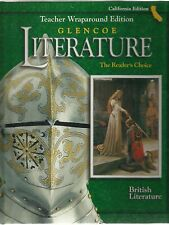 Glencoe British Literature Gr 12 California Teacher's Edition ISBN# 0078281520