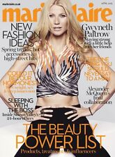 April Marie Claire Magazines for Women