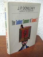 1st Edition Saddest Summer Samuel S  J.P. Donleavy Fiction 2nd Printing Classic