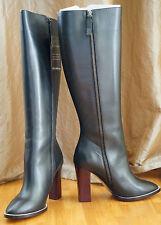 Chloe Stiefel Damen 39 Leder Leather Boots Calf Black