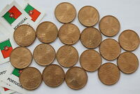 PORTUGAL 1 ESCUDO HUGE LOT IN HIGH GRADE B18 TT6
