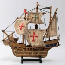 Nautical Vintage Wooden Model Of The Santa Maria 1492 Ship Model Columbus Ship