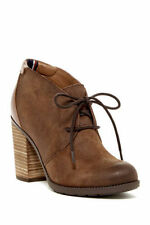 Wedge Medium Width (B, M) Lace Up Casual Boots for Women