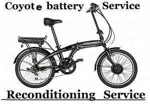 Viking Coyote Connect Electric Bike  BATTERY SERVICE