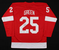 Mike Green Detroit Red Wings Hockey Jersey  Beckett COA Authenticate Autographed