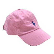 30efa032cac Mens Polo Ralph Lauren Pink Strapback Cap Adjustable Hat
