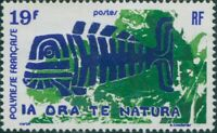 French Polynesia 1975 Sc#286,SG199 19f Nature Protection MNG