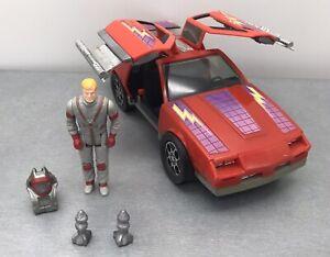 M.A.S.K. Mask Vintage Vehicle - Thunderhawk  + Matt Trakker Complete Kenner 1985