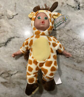 "Busch Gardens Baby Doll Giraffe Plush Stuffed Animals 10"" Tall Soft Seaworld"