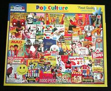 American POP CULTURE 1000 Piece Jigsaw Puzzle * White Mountain 100% Complete