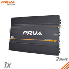 PRV Audio 8k 2 Ohms Brazilian Amplifier 8000 Watts RMS Full Range amp K Series