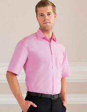 Cotton Short Sleeve No Big & Tall Formal Shirts for Men