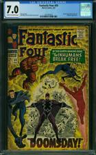 Fantastic Four #59 CGC 7.0 -- 1967 -- Inhumans Doctor Doom Surfer #2001997007