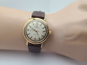 Vintage Waltham Men's Manual winding watch FHF 72-4N 17jewels swiss 1950s