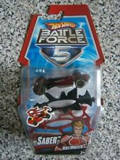 Hot Wheels Battle Force 5 SABER red Vert Wheeler - New