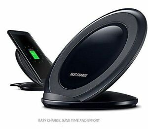 Wireless Charging Stand Fast Charger for iPhone X XR Samsung Galaxy S10 Note 8 9