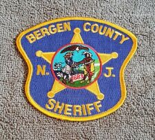 Bergen County New Jersey Sheriff Shoulder Patch