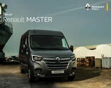 2020 MY Renault Master 08 / 2019 catalogue brochure Austria Autriche German