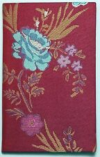 Designers Guild Little Red Pocket size journal 3 3/8in x 5 3/8in