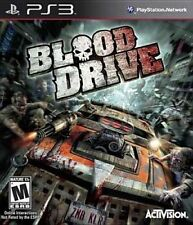Blood Drive - Gruesome Motorized Combat Zombies Horrific Tournament Ps3