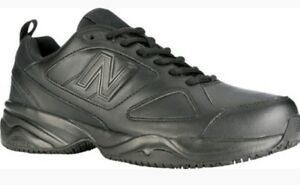 New Balance Men's Black 626v2 Work Shoe Safety Certified Slip Resistant Sz 7 4E