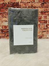 "Hudson Park Collection Gray Interlock Standard Quilted Pillow Sham 20""X28"""