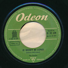 "THE BEATLES 45 TOURS 7"" GERMANY IF WON'T BE LONG"