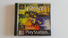 V-RALLY / jeu Playstation 1 - PS one / complet / PAL / V RALLY