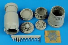 Aires 1/48 MiG-23M/MiG-23MF Flogger exhaust nozzle opened for Trumpeter # 4594