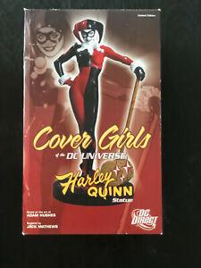 DC Universe Cover Girls ADAM HUGHES HARLEY QUINN Statue