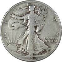 1944 Liberty Walking Half Dollar VG Very Good 90% Silver 50c US Coin Collectible