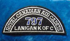 CANADA Royal Canadian Air Cadets LANIGAN K of C 797 squadron shoulder flash