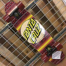 NEW Santa Cruz Jammer Serape Cruzer Complete Skateboard - 7.4in x 29.1in