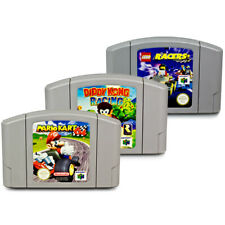 N64 Jeux Mario Kart + Diddy Kong Racing + Lego Lego Racers