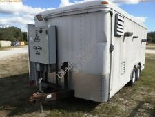 2003 Pace 16 x8  Trailer with blower and vacuum assembly