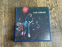 Cream Reel to Reel Tape - Live Cream - Atco 4 Track 3 3/4 IPS Stereo