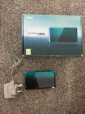 Nintendo 3DS Aqua Blue With Box