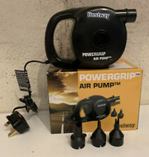 BESTWAY POWERGRIP ELECTRIC AIR PUMP WITH ACCESSORIES FULLY WORKING
