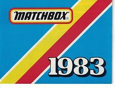 1983 MATCHBOX POCKET CATALOG