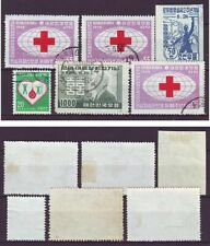 p2613/ Korea lot incl Imperf Issue