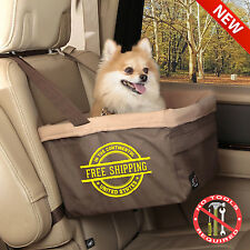 Pet Booster Seat Dog Car Safety Carrier Cat Basket Puppy Travel Soft Kitty New