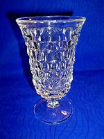 "VINTAGE CHERRY GLASS, 4 7/8"" TALL"