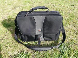 """Swiss Gear 17"""" Laptop Bag Shoulder Bag Satchel for Flights,College, Work, Uni"""