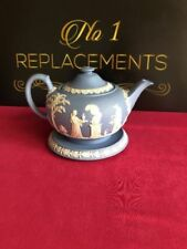 Jasperware Teapot British Wedgwood Porcelain & China