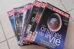 Revues  SCIENCE et VIE année 2008 complète