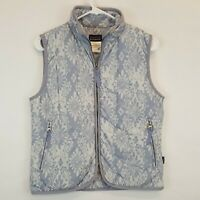 Patagonia Floral Print Puffer Insulated Vest Womens Sz Small Nano Air Micro Puff