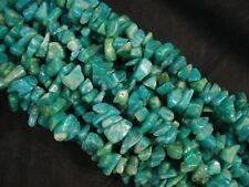 Gemstone Chips Russian Amazonite 80cm Beads Semi Precious Jewellery POSTAGE