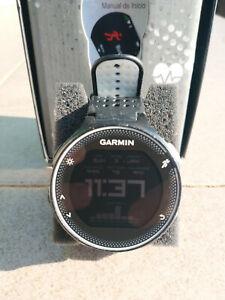 Garmin Forerunner 230 GPS Reloj Deportivo + HRM3-SS banda pectoral premium