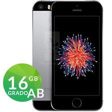 APPLE IPHONE SE 16GB SPACE GRAY NERO RICONDIZIONATO GRADO AB RIGENERATO GARANZIA