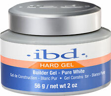 IBD Builder Gel Pure White (Intense White) - 2oz # 72148 (AUTHENTIC) *